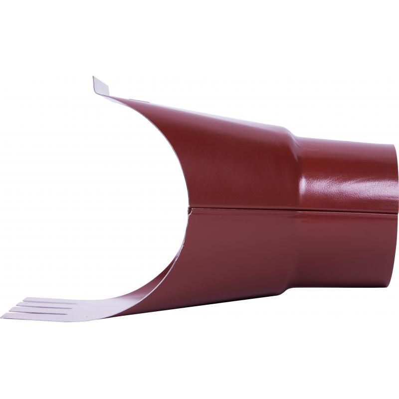 Воронка 125x90 мм цвет красный