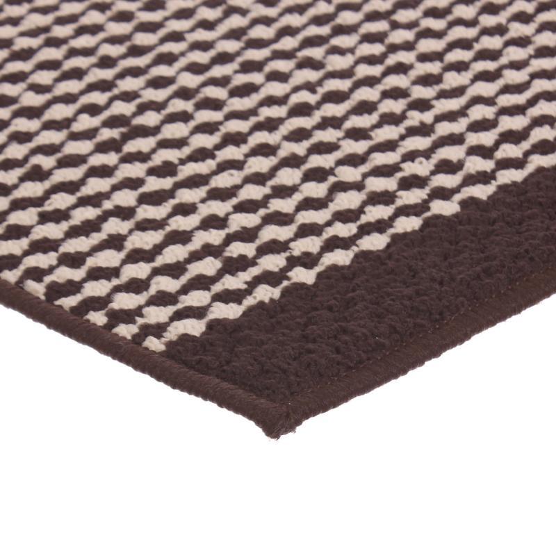 Коврик «Париж», 50х80 см, нейлон, цвет коричневый