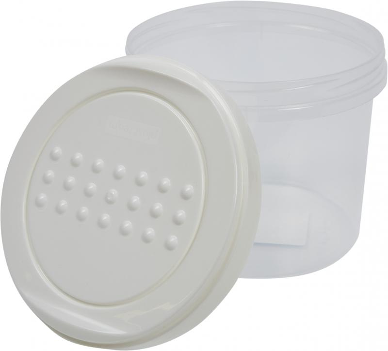 Набор банок для сыпучих продуктов 0.7 л, 2 шт.