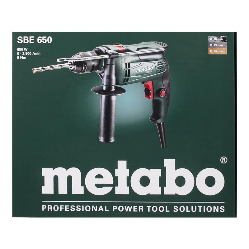 Дрель ударная Metabo SBE 650, 650 Вт