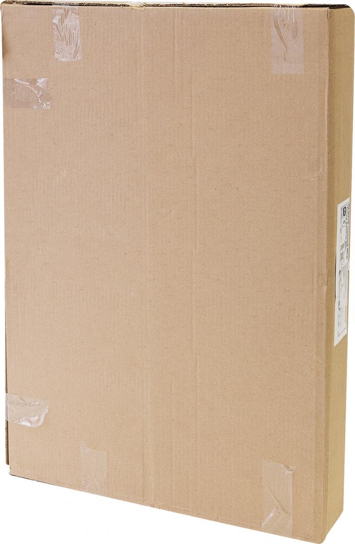 Шкаф навесной «Сосна жалюзи Мо» с фасадом 68х80 см, хвоя/ЛДСП, цвет сосна