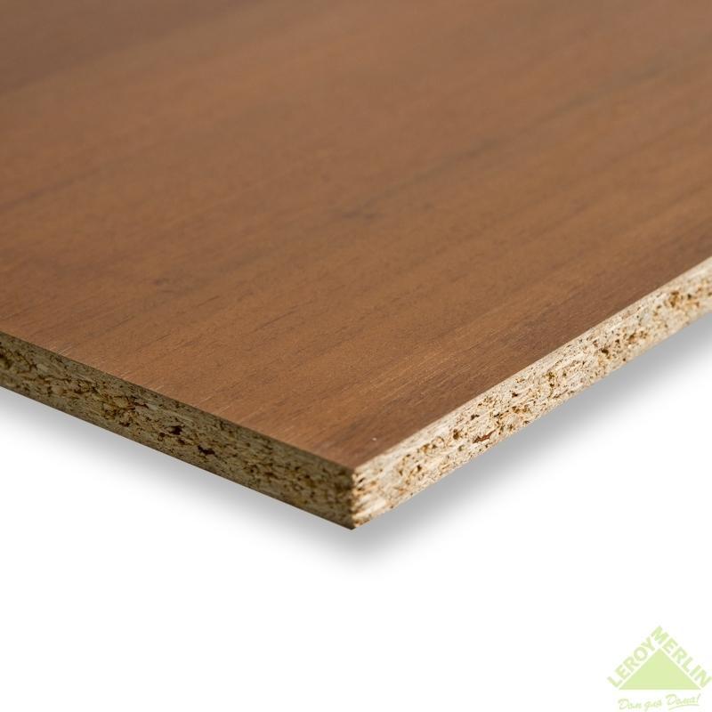 Панель мебельная без кромки 2720х1200х16 мм цвет орех