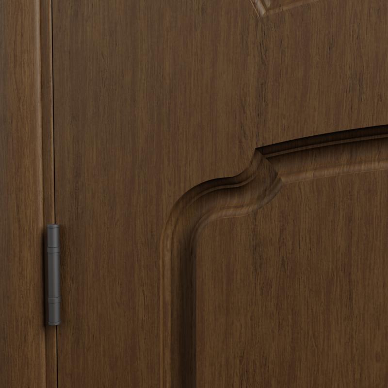 Дверь межкомнатная Helly остеклённая 90x200 см шпон натуральный цвет тонированный дуб