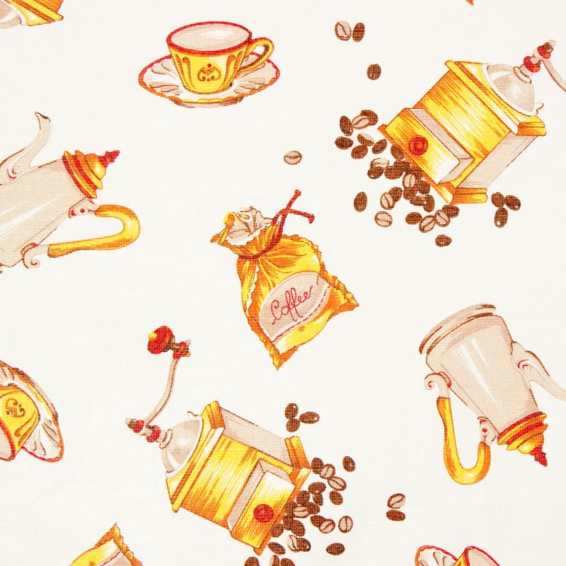 Штора на ленте «Coffeе» 145х220 см