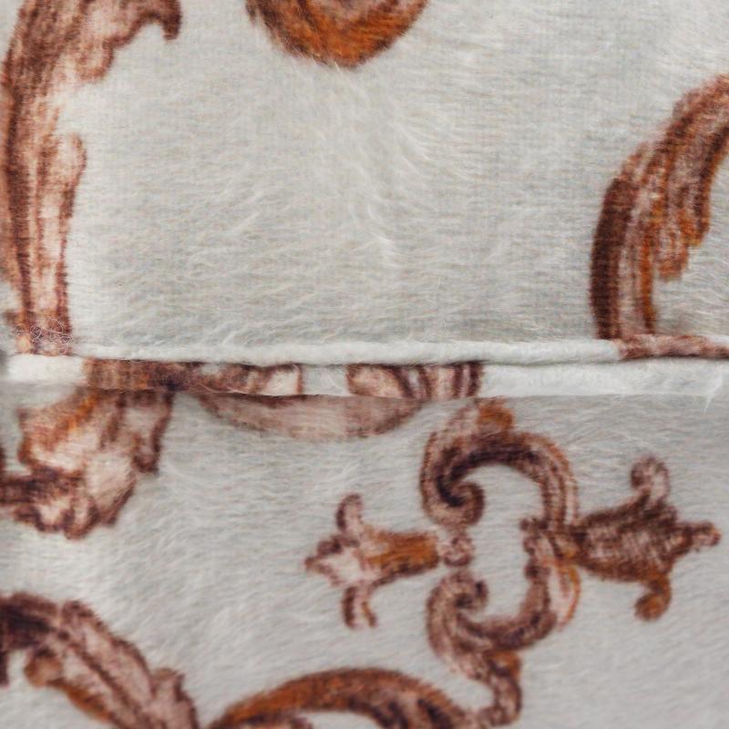 Подушка для стула «Sea Foam», 40х40 см, плюш, цвет золотой