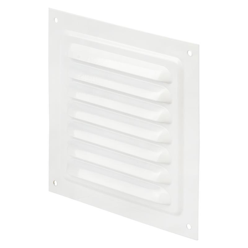 Решетка вентиляционная Вентс МВМ 125 с, 125х125 мм, цвет белый