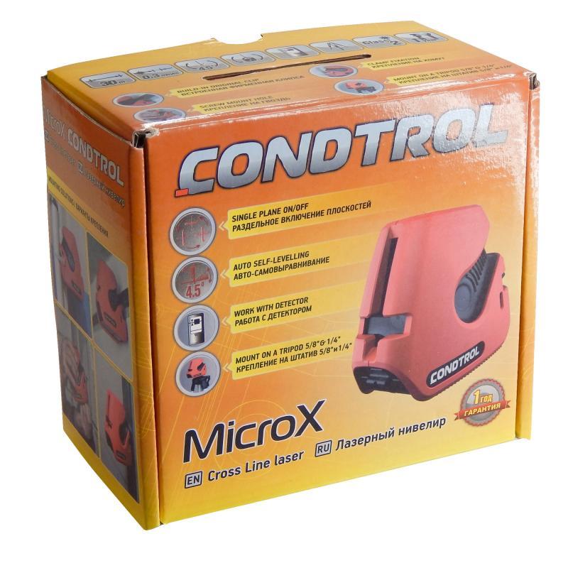 Уровень лазерный Condtrol MicroX с дальностью до 20 м