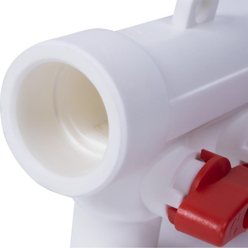 Коллектор Тебо, 4 выхода с кранами, 32х20 мм, полипропилен