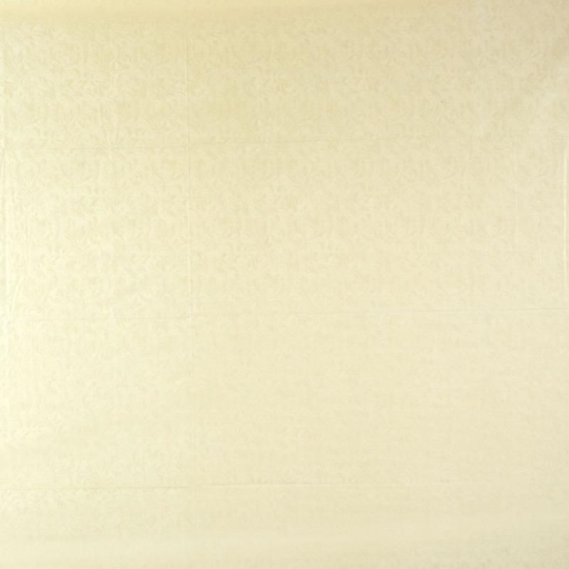 Скатерть «Ветка» 220х135 см шёлк цвет белый
