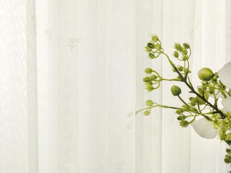 Тюль 1 п/м «Сюзанна», вышивка, 280 см, цвет экрю