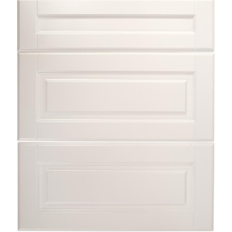Двери для шкафа Delinia «Леда белая» 60x70 см, МДФ, цвет белый, 3 шт.