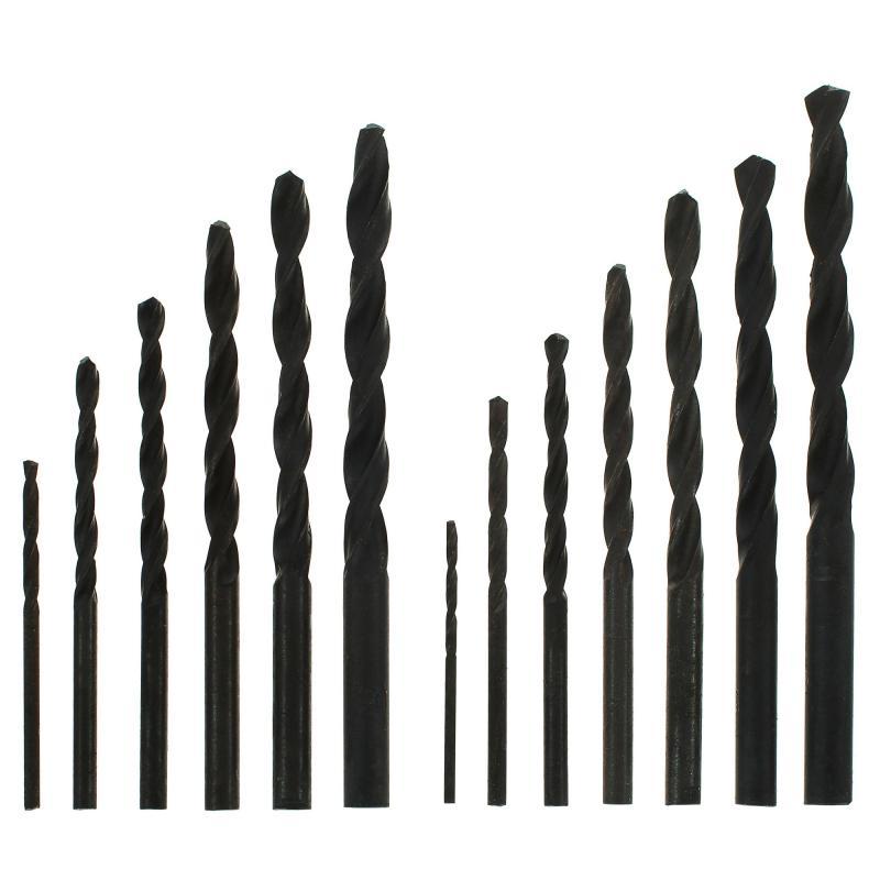 Набор сверл по металлу HSS 13 шт. Sparta 723455, 1.5-6.5 мм