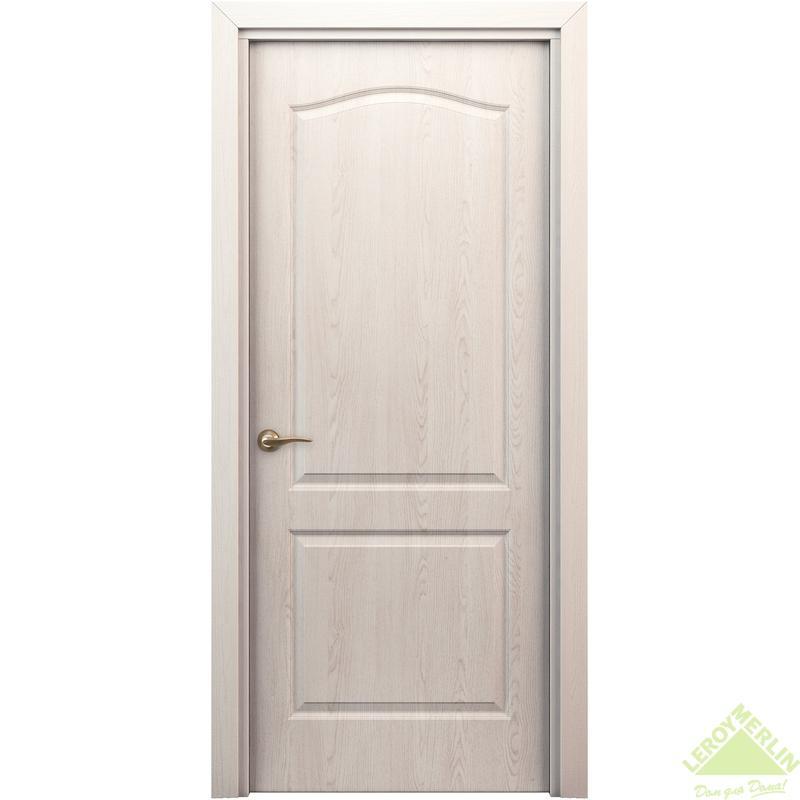 Дверь межкомнатная глухая Палитра 700x2000 мм, дуб Паллада