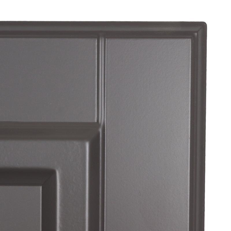 Дверь для шкафа Delinia «Леда серая» 60x70 см, МДФ, цвет серый