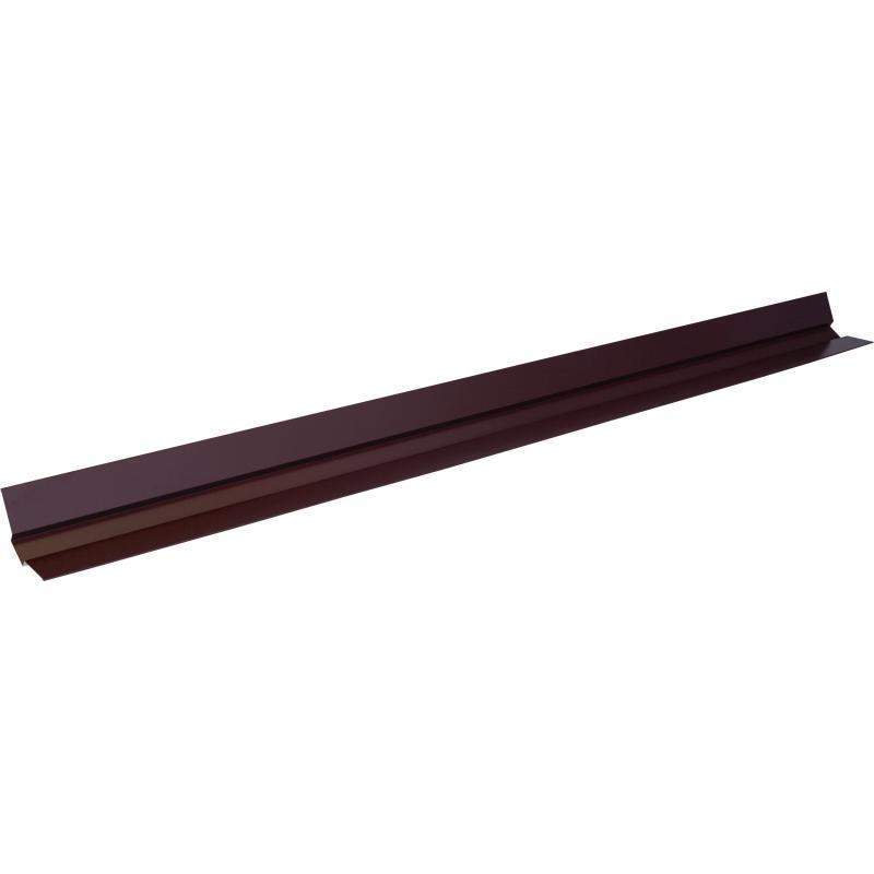 Ендова верхняя 2 м RAL 8017 коричневый