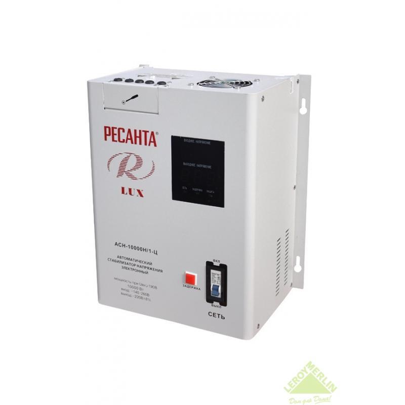 Стабилизатор напряжения настенный Ресанта 10 кВт