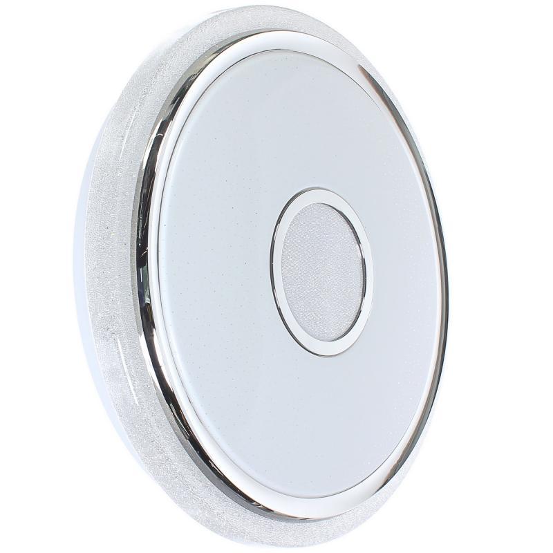 Светильник настенно-потолочный диммируемый светодиодный Venus, с пультом ДУ, 20 м², регулируемый белый свет, цвет белый