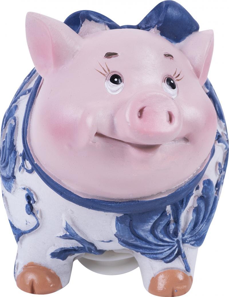 Копилка декоративная «Свин», 9 см, с узором