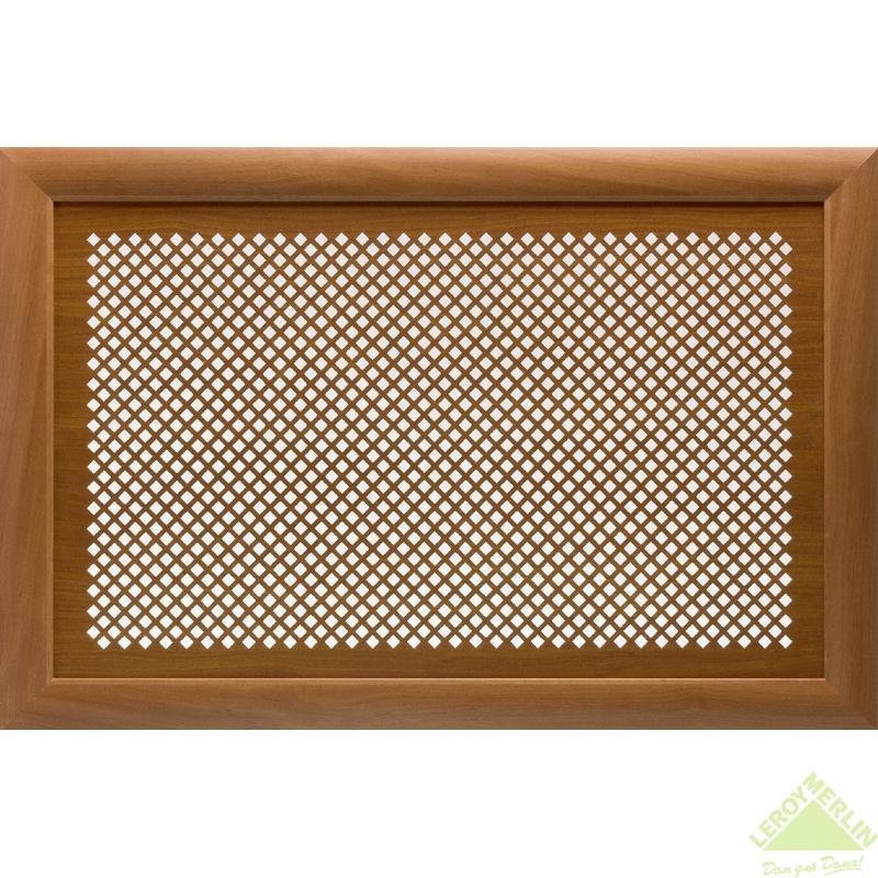 Короб декоративный для радиатора Дедало 60х90 см цвет ольха