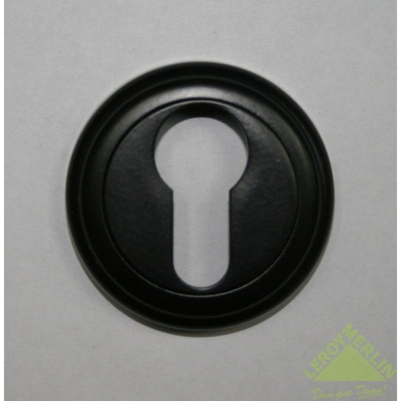 Накладка под цилиндр Euro ZC5301 цвет чёрный