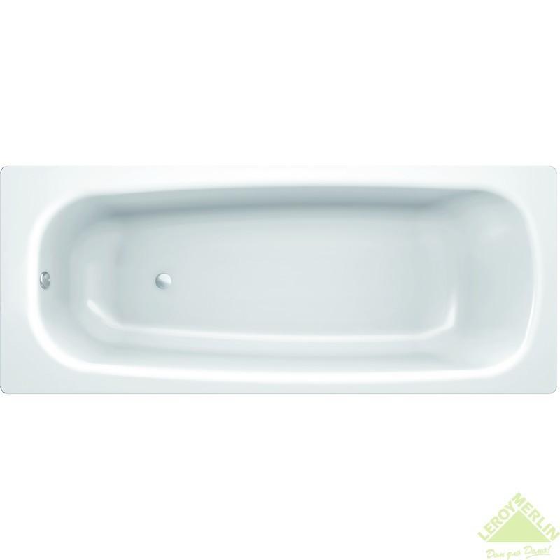 Ванна без гидромассажа Ницца сталь 150х70