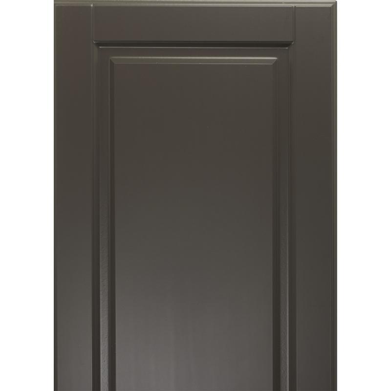 Дверь для шкафа Delinia «Леда серая» 40x92 см, МДФ, цвет серый