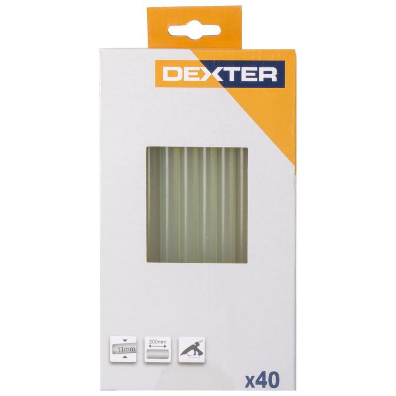 Клеевые стержни Dexter 11х200 мм 40 шт.