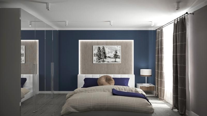 Карниз двухрядный раздвижной «Трапеция», 160-300 см, цвет стальной матовый
