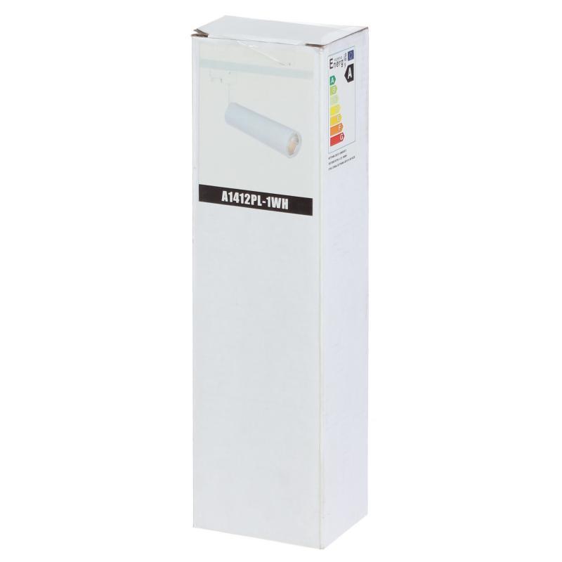Трековый светильник светодиодный «Periscopio» 12 Вт, 4 м², цвет белый