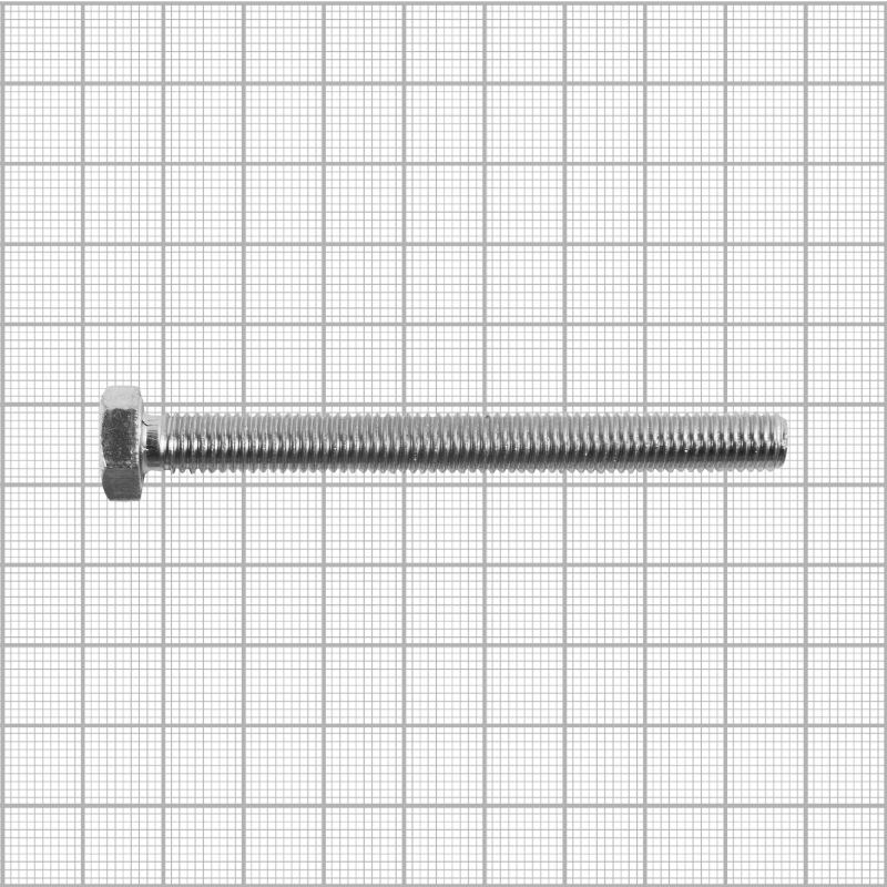 Болт DIN 933 M8x80 мм, на вес