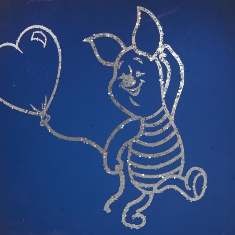 Шар ёлочный «Свинка», 6.5 см, цвет синий