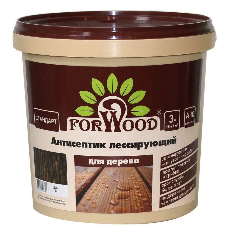 Антисептик Forwood цвет дуб 3 л