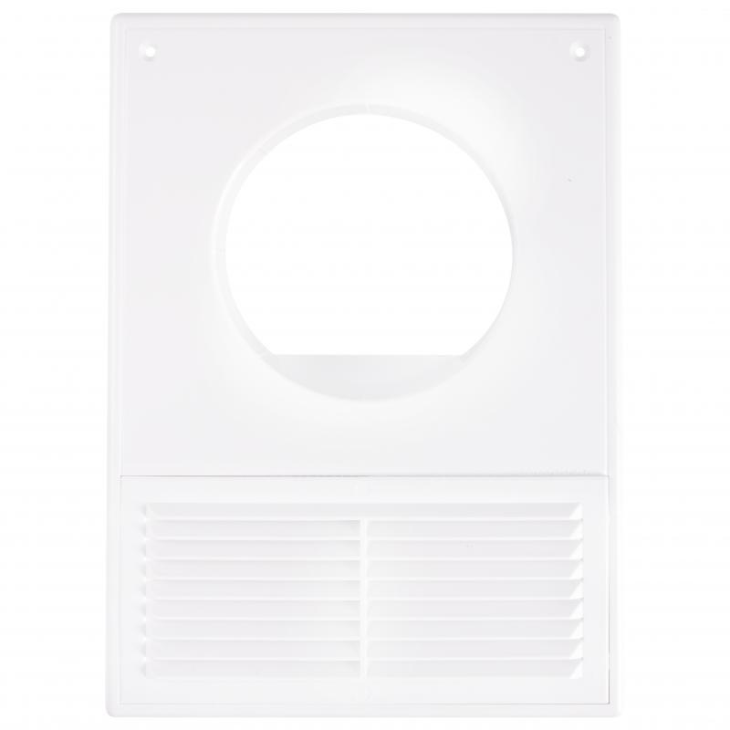 Решетка вентиляционная Вентс МВ 100 Кс, 182x252 мм, цвет белый