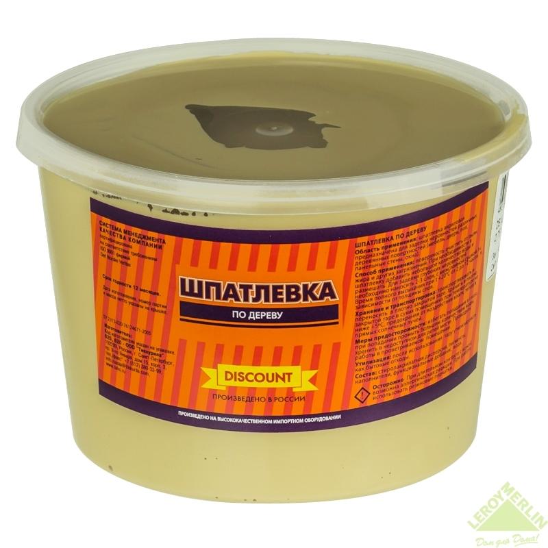 Шпаклевка по дереву Текс Ре-Файн 0.75 кг цвет сосна
