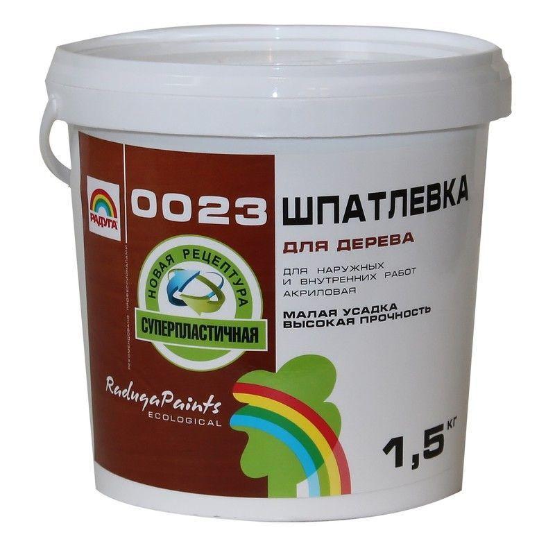 Шпаклёвка по дереву Радуга 0023 цвета берёза 0.9 кг