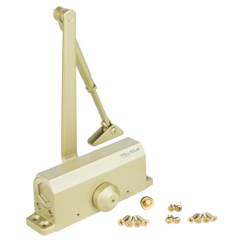 Доводчик 1045 D, 25-45 кг, цвет золото