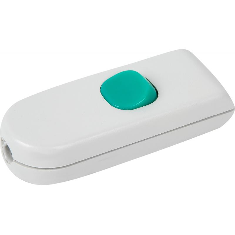 Выключатель проходной белый 10 А, 220 В