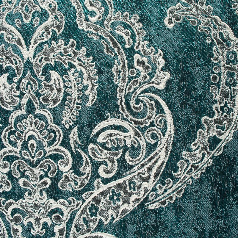 Ткань 1 п/м «Дамаск», жаккард, 280 см, цвет бирюзовый