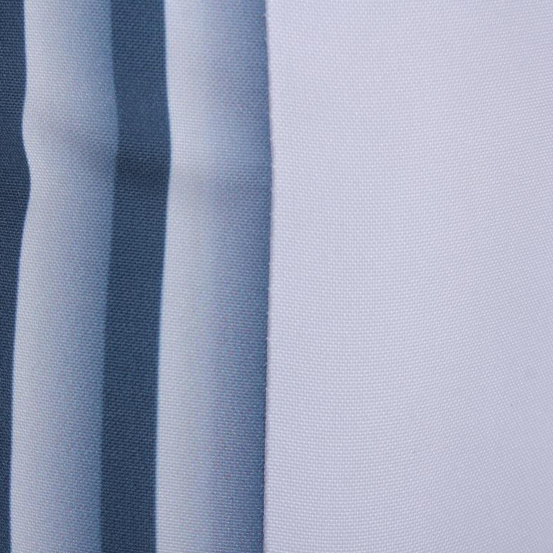 Подушка декоративная «Полосы», 40х40 см, цвет синий