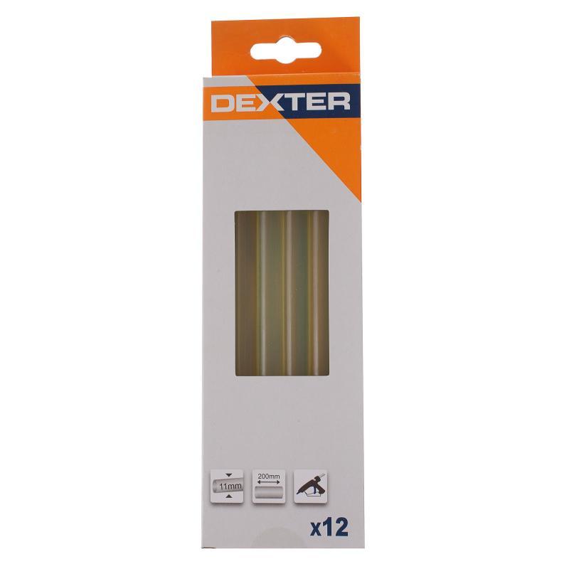 Клеевые стержни Dexter 11х200 мм 12 шт.