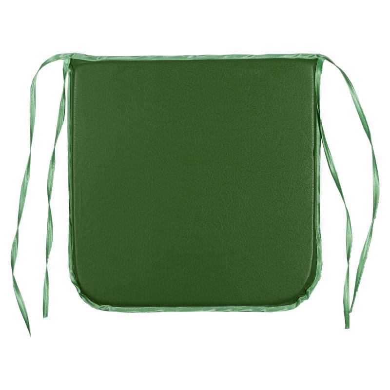 Подушка для стула «Дача» 35х35 см цвет зелёный