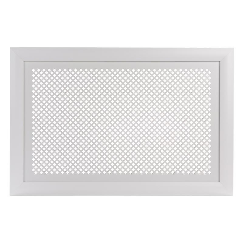 Короб декоративный для радиатора Дедало 60х90 см цвет белый