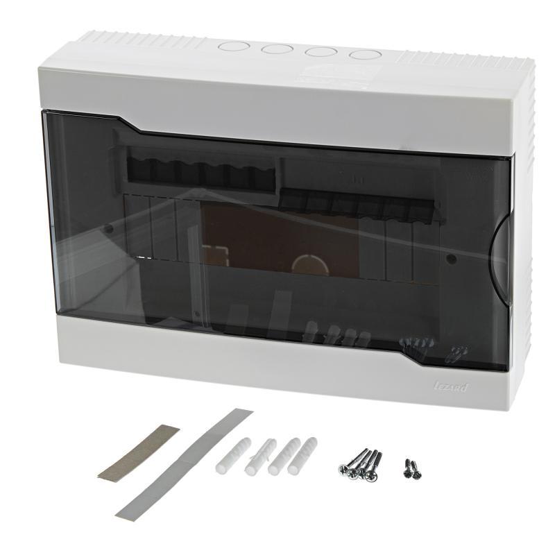 Щит пластиковый Лезард ЩРН-П-12 на 12 модулей