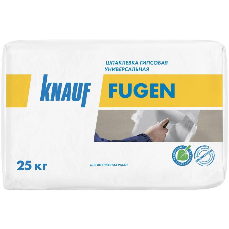 Шпаклёвка гипсовая универсальная Knauf Фуген 25 кг