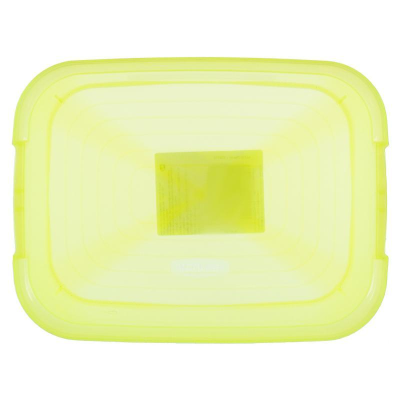 Корзина Curver Amsterdam мини неон пластик цвет желтый