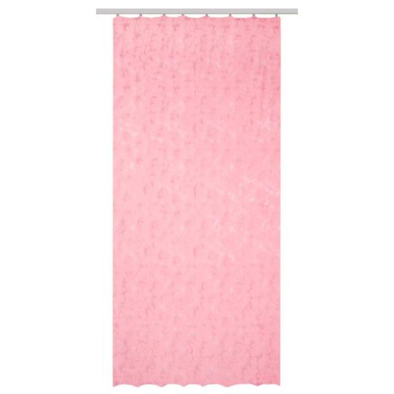 Тюль на ленте «Специя» 140х260 см цвет розовый