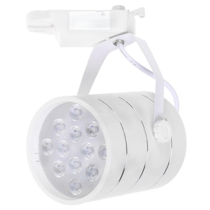 Трековый светильник светодиодный «Cinto» 12 Вт, 4 м², цвет белый