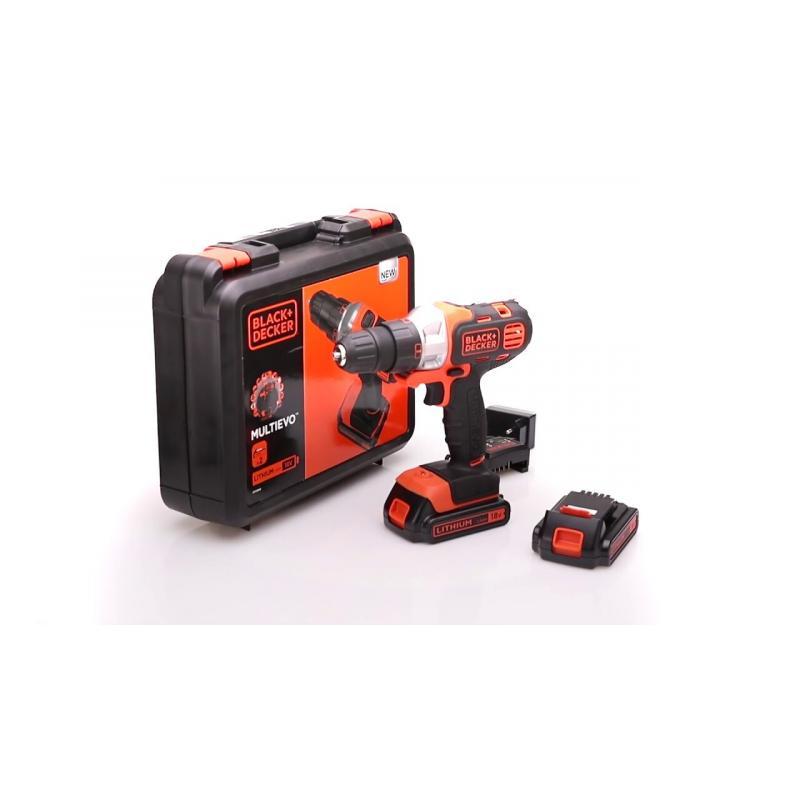 Аккумуляторный реноватор Black&Decker Multievo MT218, 18 В Li-Ion 2x1.5Ач