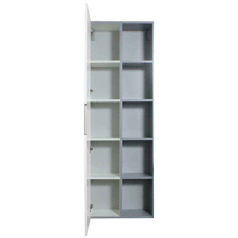 Шкаф «Либерти» 55 см цвет белый глянец
