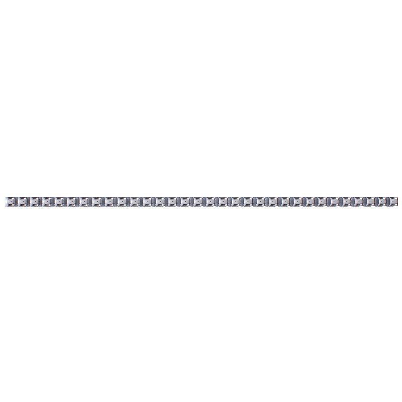 Бордюр «Бусинки» 7х250 мм цвет платиновый